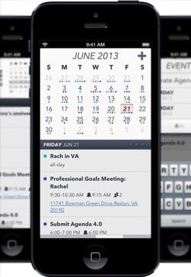 Agenda iOS App